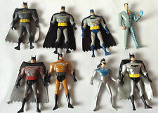 BATMAN ANIMATED 2008 MATTEL action figures x 8 SET LOT BUNDLE TWOFACE NIGHTWING