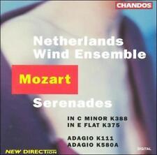 """""""Mozart Serenades"""" Netherlands Wind Ensemble (DDD, Chandos Records 1994 )"""