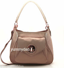 MIMCO MOLTEN HOBO LEATHER BAG IN SALMON BNWT RRP$499