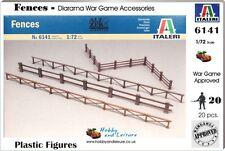 Italeri 6141 1/72 Fences,Dioramas,War Gaming,Railway s