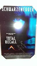 TOTAL RECALL MOVIE POSTER SIGNED ARNOLD SCHWARZENEGGER MERRY CHRISTMAS DANIELLE