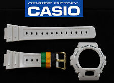 Casio  G-SHOCK ORIGINAL Watch BAND & BEZEL SHINY WHITE Rubber DW-6900R-7V