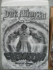 Dark Alliance Series II - Cremator - Test Shots - Open, Good Condition