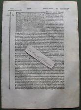 """CENTOCELLE. Xilografia da """"Filippo Foresti"""", anno 1503"""