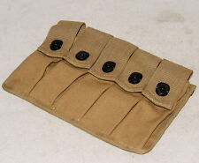 WWII US AMRY THOMPSON MAGAZINE POUCH 5 CELL 20 ROUNDS -31772