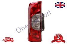 CITROEN NEMO 2008 ON Left Hand Side Rear Tail Lamp Light Single Door Brand New