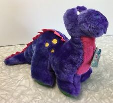 Plush Scotch Videocassette Playback The Videosaurus Purple Dinosaur 3M 1989 HTF