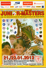 PROGRAMME UFFICIALE=16° INTERNATIONALES HALLE (N)FUSSBALL JUNIOR MASTERS 2012