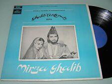 MIRZA GHALIB Bollywood OST Ghulam Mohammad 1969 REGAL LP MINT