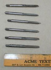 New listing Used Lot of 6 Tap Bits 10-24 Nc G H3 Hs Gtd Jarvis Hanson Brubaker Greenfield