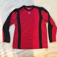 Mizuno Mens Shirt Men's Size Large Activewear Pullover Wind Dirt biking Racing