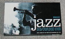 4 CD BOX SET Finest in Jazz N2 Miles Davis Coltrane Armstrong Ellington 3+ hrs