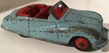 Vintage Dinky Toys #106 'Austin Atlantic Convertible' Light Blue, Red Interior