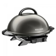 GRILL GEORGE FOREMAN Indoor Electric Removable Stand Black 15 Serving Outdoor