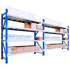 2M x 2.4M 1200kg Garage Shelving Long Span Steel Warehouse Longspan Storage