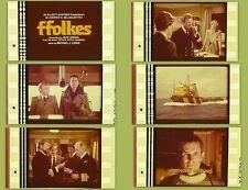 FFOLKES aka Assault Force 1979 - 35 film cells - Roger Moore, James Mason