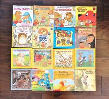Vintage Lot of Children's Paperback Books Berenstain Bears Clifford Nursery Rhym