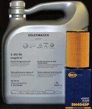 5 Liter Original VW 5W30 Motoröl + SH4049P Ölfilter VW AMAROK EOS GOLF PLUS IV