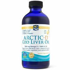 NORDIC NATURALS, ARCTIC-D COD LIVER OIL Vitamin D3 1060mg 237ml SUPER PREIS