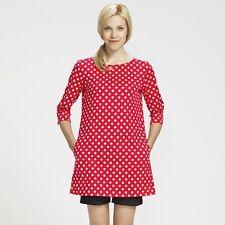 MARIMEKKO Petja Red Polka Dot Tunic - Size L Large BNWT *NEW*