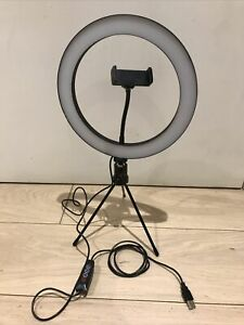 "LED Light Ring 10"" Tripod Stand Phone"