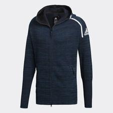 adidas Men's ZNE HD Parley Jacket Hoodie Navy Casual Apparel Tennis NWT DM5649