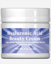 Puritan's Pride  Hyaluronic Acid Beauty Cream Made In USA