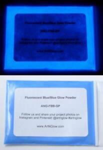 Fluorescent Glow in the Dark Powder, 6 colors, Strontium Aluminate, Glow Pigment