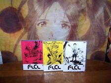 Fooly Cooly Flcl Original Release Vol 1,2,3 Complete Collection New - Anime Dvd