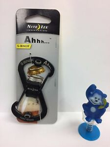 Nite Ize Ahhh... S-biner with Bottle Opener Black SBO-03-01