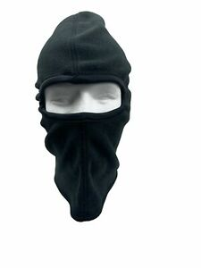 Face Mask Ski Winter Hat 1 One Hole Balaclava Hood Beanie Tactical Warm Black