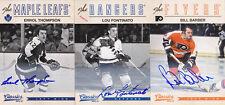 12-13 Panini Classics Errol Thompson Auto Signatures Maple Leafs Autograph 2012