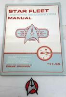 Vintage Star Trek Federation Uniform Recognition Manual w Free TMP Red Patch