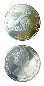 Gibraltar Preserve Planet Earth Series Eagle 1994 One Crown Uncirculated
