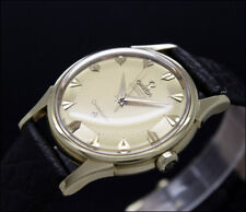 OMEGA CONSTELLATION PIE PAN DELUXE vintage automatic 18K GOLD watch 14381 / 2