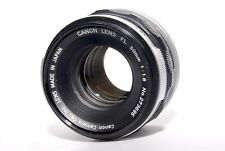 Canon FL 50mm f/1.8 FD/FL mount MF Standard Lens FROM JAPAN #74