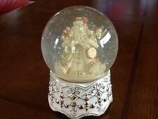 Christmas Music Globe, Maureen Drdak Santa, San Francisco Music Box Co.