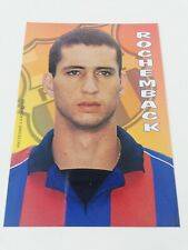 POSTAL FABIO ROCHEMBACK FC BARCELONA 2001-2002 FOOTBALL POSTCARD BARÇA BRASIL.