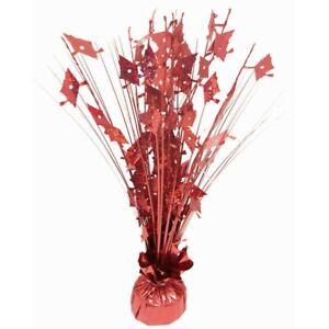 Forum Novelties 9Oz Balloon Weight 15 Inches Spray Centerpiece, Red