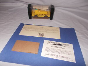 AMERICAN FLYER 23743 REPRODUCTION INSERT AND INSTRUCTIONS ONLY NO CAR OR BOX