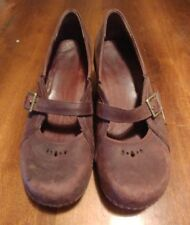 Patagonia Better Clog Mary Jane Brown Leather Shoes Womens Size. 8.5