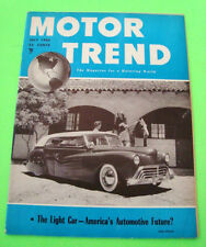 July 1950 MOTOR TREND Mexican Road Race CORD New Oldsmobile FUTURE CARS Xlnt