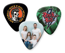 More details for guitar picks printed with your photo & text personalised customised plectrums