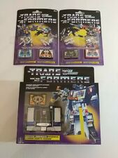 G1 Soundwave Buzzsaw Transformers Walmart Reissue New Complete With 4 Cassettes