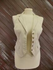 H&M Vest Cream Color Women's Size 6