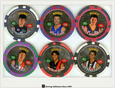 2008 Topps AFL Poker Chipz Silver Rookie Chipz Full Set (16)