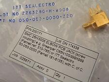 ITT angolo retto a gomito SMC PCB PRESA JACK 050-053-000-220 RF connettore en24