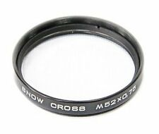 Snow Cross filter M52x0,75 for SLR Zenit cameras made by KMZ (6 point flare)
