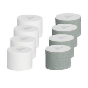 8 Silk'n Micro Nail Ersatzrollen (4 Glättrollen und 4 Polierrollen)