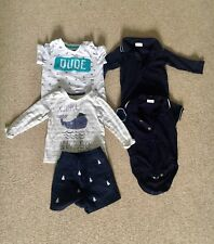 b93878614 Designer Baby Boy Bundle Outfits 6-9 Months Janie and jack Next Mothercare